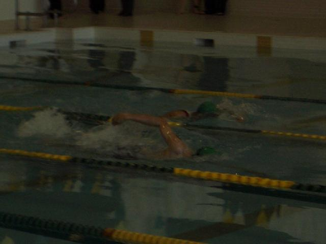 Swim Portion, University of Alberta Triathlon, Sprint Distance. 1:22:36