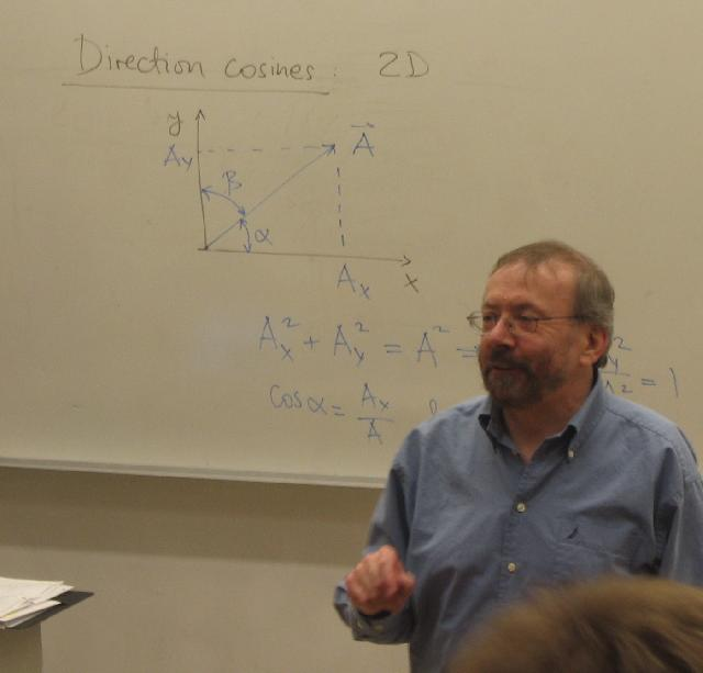 Jan Jung Teaching Solid State Physics... and basic trigonometry from Jr High!