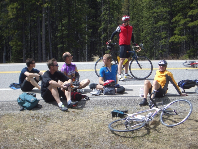 Highwood Pass Training Ride - May 31 2008.