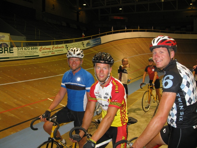 Velodrome - Kyle, John and Myself