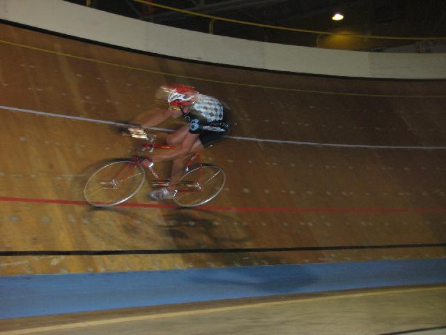 Another shot from the velodrome... this one from Dave's camera